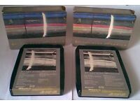 Very Rare 8 Track Cartridges by Paul McCartney & Wings-Wings Over America and Band on the Run