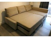 *Free delivery & Free Assembly* Beautiful Corner Sofa Bed with storage space.