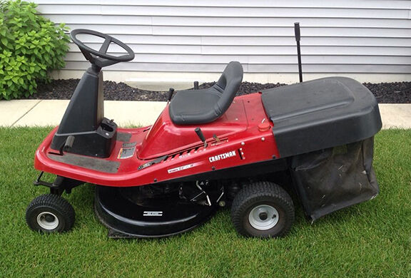 Craftsman Grass Bagger : How to attach bagger craftsman riding mower ebay