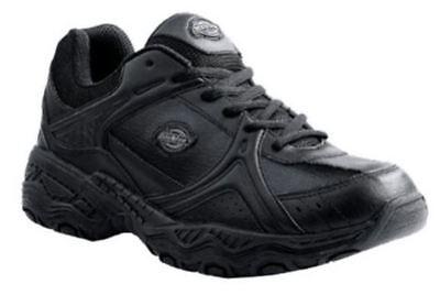 Dickies NEW SR3515 Womens Black Venue II Slip Resistant Soft Toe Shoes