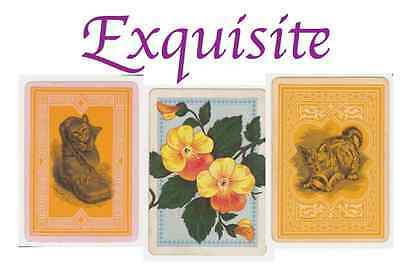 Exquisite Vintage Playing Cards
