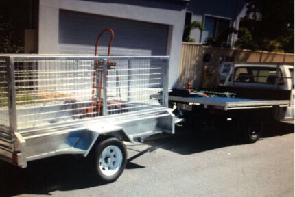 **MAN/UTE & TRAILER** (10 x 6 caged) Southport Gold Coast City Preview