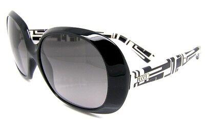 c6221e11b5 Emilio Pucci Luxury Sunglasses EP623S 001 Black Large Lens Accessory New