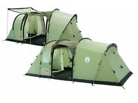 Coleman Mackenzie Cabin 6 tent with Footprint, Carpet and side extension - Excellent value!