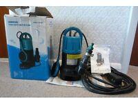 TITAN HD583PMP HEAVY DUTY 750W DIRTY WATER PUMP 220-240V Brand New