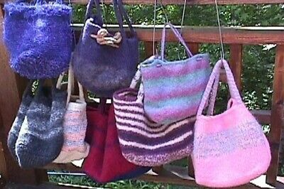 Best Ever Felted Bag Pattern by Linda Wish Knit