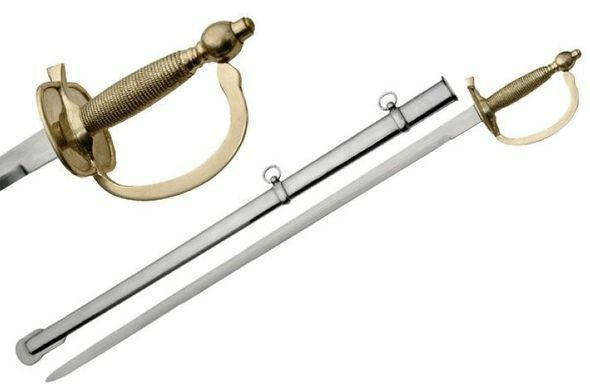 1840 United States Army NCO Sword with Steel scabbard