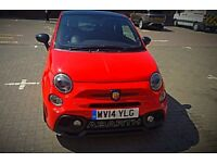 FIAT 500 ABARTH 1.2 S 3 DOOR HATCHBACK LOW MILEAGE RED ABARTH JET PETROL MANUAL 2014