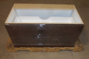 "BRAND NEW WALL MOUNT VANITY - CHOCOLATE - 36""W x 18.75""D x 18""H"