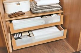 Wardrobe internal chest of drawers x three sets