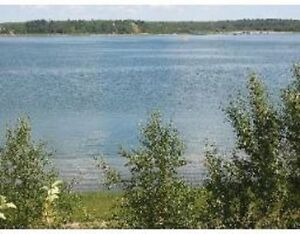 Lake Front - Lac Santé 1.02 Acres (Priced to sell)