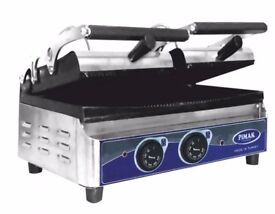 Double Panini Grill Electric 55CM / FAST FOOD