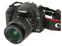 Canon 500d with 18-55mm lens