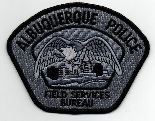 NEW MEXICO NM ALBUQUERQUE POLICE FIELD SERVICES BUREAU NICE PATCH SHERIFF