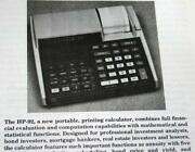 HP 25 Calculator