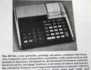 HP 25 Calculator