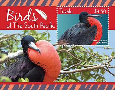 TUVALU-2015-BIRDS-BIRD OF SOUTH PACIFIC