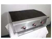 Char Broiler Grill 3 Burner Char Grill / Water Grill Catering Commercial (oct)