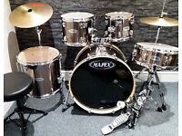 Mapex 5pc Drum Kit. Excellent Condition.