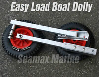 """Pinless Transom Launching Wheels - (New Product) - 12"""" Inflatabl"""