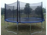 WANTED TRAMPOLINE 12-13FT SLIDE PLAYHOUSE ETC