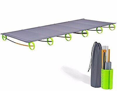 Ultralight Folding Bed Portable Aluminium alloy Cots Camping Tent Bed Outdoor