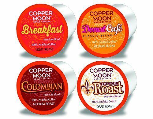 Copper Moon Variety Pack Coffee 80 to 160 Keurig K cups Pick