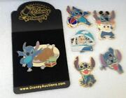 Disney Stitch Pin Lot