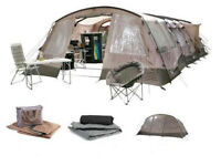 FOR SALE - Gelert Morpheus 8 - 8-Berth Tent w/ Optional Porch Included: £200.00 ono
