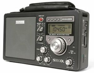 Eton S350DL AM/FM Shortwave Deluxe Radio Receiver (Black) - NEW