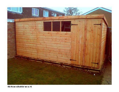workshop shed - Garden Sheds Haydock