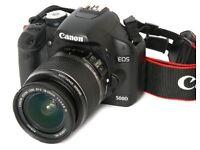 Canon EOS 500D 15.1MP Digital SLR Camera - EF-S 18-55mm IS Lens