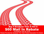 Goodyear 225/50/17 Performance Tires