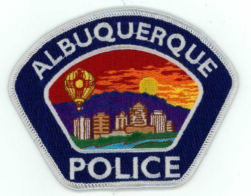 NEW MEXICO NM ALBUQUERQUE POLICE NICE PATCH SHERIFF BLUE