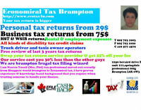Tax Return Brampton & GTA