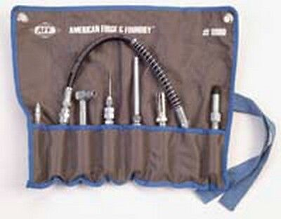 7 Piece Grease Adapter (American Forge & Foundry 8090 7 Piece Grease And Lube Adaptor Set )