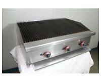 Char Broiler Grill 3 Burner Char Grill / Water Grill Catering Commercial