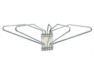 Wall Mounted X-ray Apron Rack 5 Arms Left Swing
