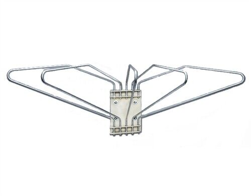 Wall Mounted X-Ray Apron Rack, 5 Arms, Left Swing