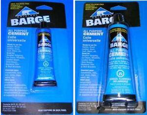Barge-Original-All-Purpose-Cement-TF-3-4Oz-22mL-2Oz-59mL-Tube-NEW-Quabaug
