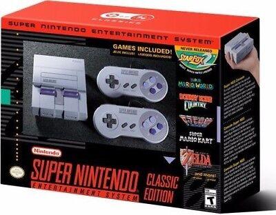 NEW Super NES Classic Edition SNES Nintendo Best 265+ Top GAMES  (Best Snes Classic Games)