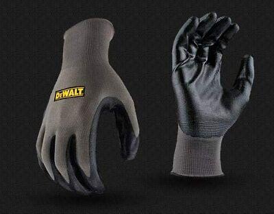6 Pairs Work Safety Gloves Dewalt Dpg73 Ultradex Smooth Nitrile Dip