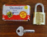 Slaymaker Lock