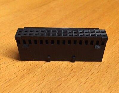 Tetycoamp 2-87631-7 Conn Housing 32pos .100 Pol Dual 4pcs 1 Lot