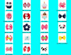 Gymboree Multi-Color Hair Hair Clips for Babies