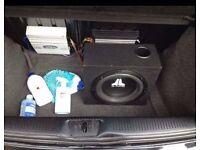 Car HIFI - JL Audio Subwoofer, American Legacy amp