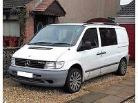 Mercedes Vito, 112cdi, 2.2, W638, Year 2002 Crew cab (ideal Surf/Camper conversion)