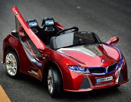 New Bmw I8 Style Ride On Car Remove 12v Battery Red Toy Kids Toys