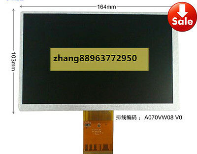 7  inch A070VW08 V.0 LCD Screen Display Panel repair  free ship zhang88