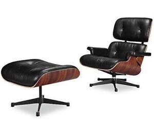 Eames Lounge Chair, Genuine Italian leather